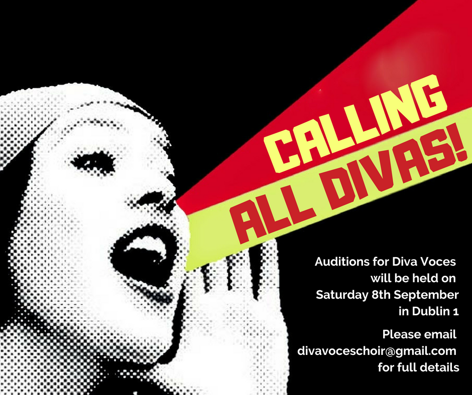 DIVA VOCES AUDITIONS 2018